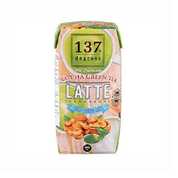 Sữa hạt óc chó trà xanh180ml