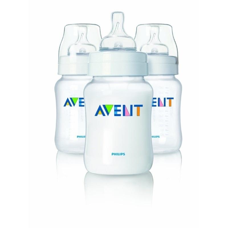 Bình sữa Avent nhựa PP 125ml set 3
