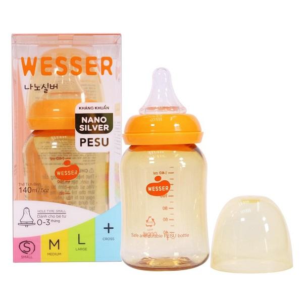 Bình sữa Wesser Pesu 140ml