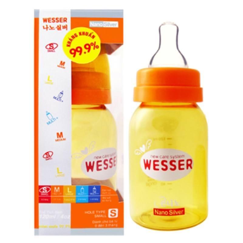 Bình sữa Wesser Nano Silver 140ml