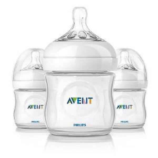 Bình sữa Avent Natural 125ml set 3