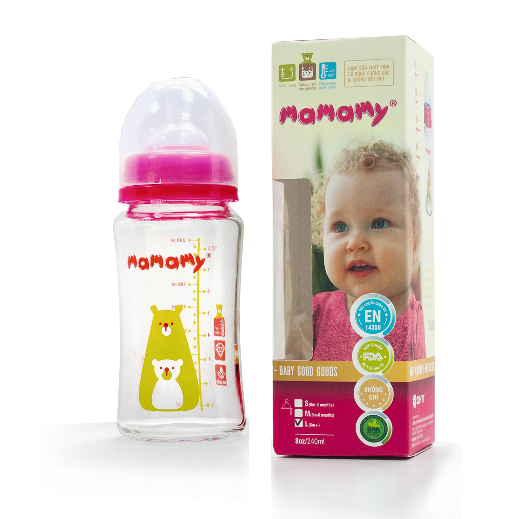 Bình Sữa TT 240ml Mamamy