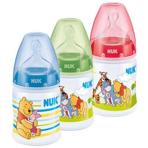 Bình sữa NUK PP Disney 150ml ty Silicone S1-M