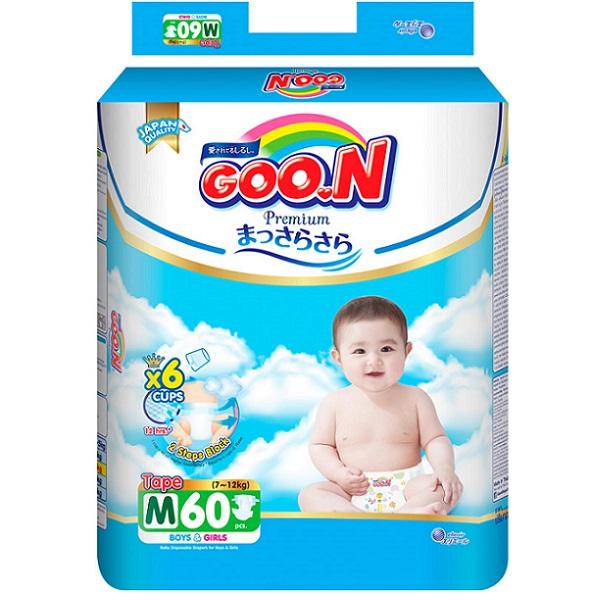 Bỉm Goon Premium dán M60, tích tem đổi quà