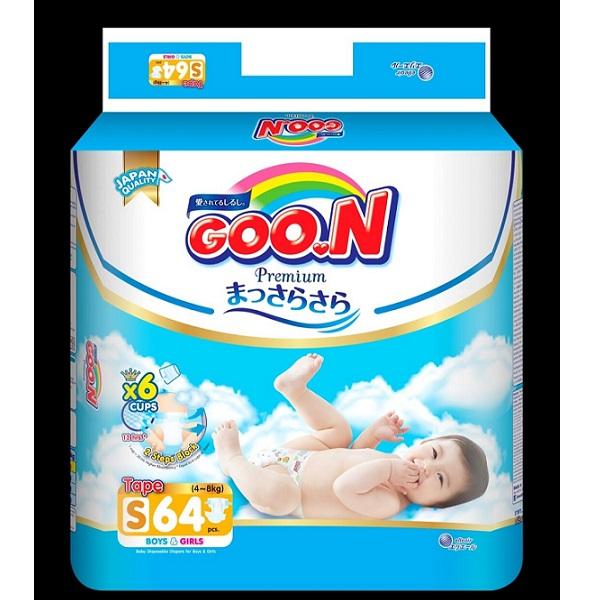 Bỉm dán Goon Premium S64, tích tem đổi quà