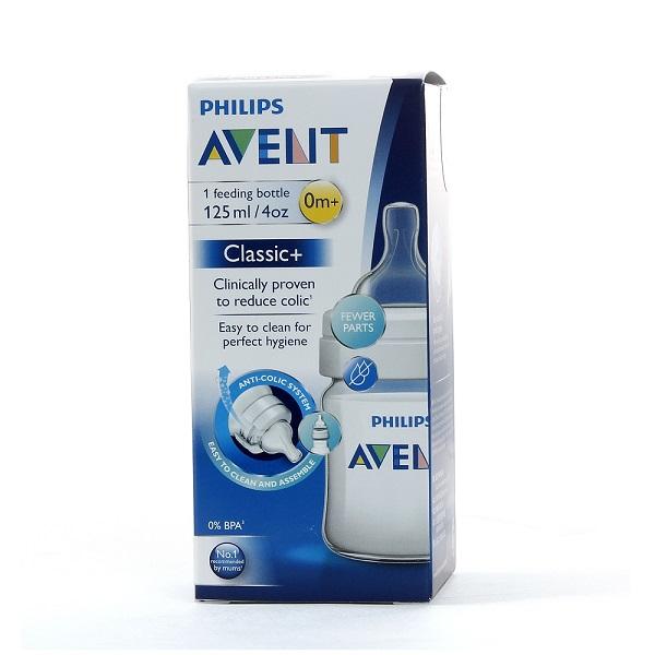Bình sữa Avent nhựa PP anti-colic 125ml