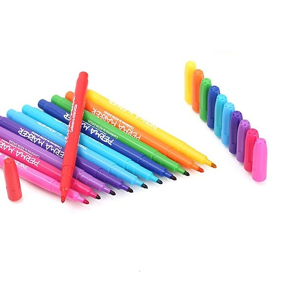 Bộ 12 cây bút lông Perma markers MS-12PER