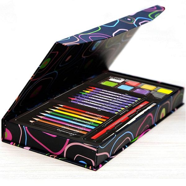 Bộ màu vẽ đa năng hộp giấy M28 - MS-28PB