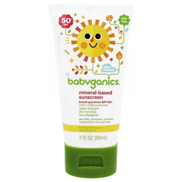 Kem chống nắng Babyganics 59ml