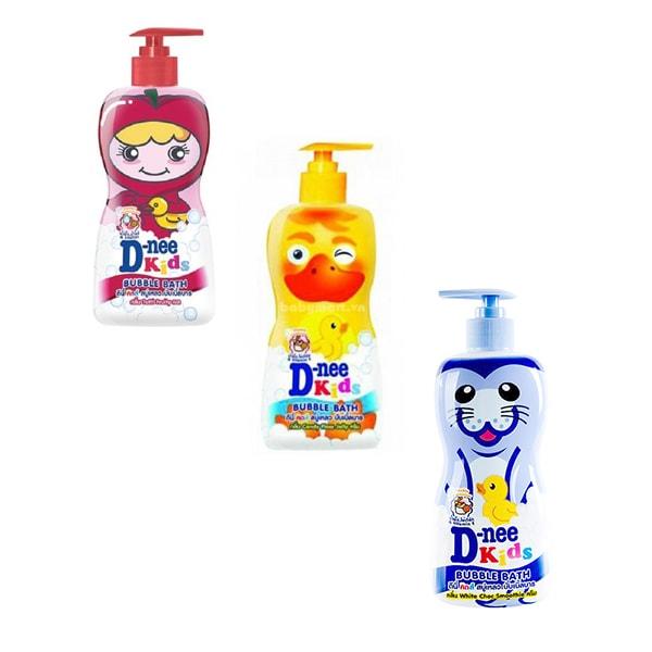 Combo 3 chai Sữa tắm trẻ em Dnee Kids 400ml M249 M250 M251