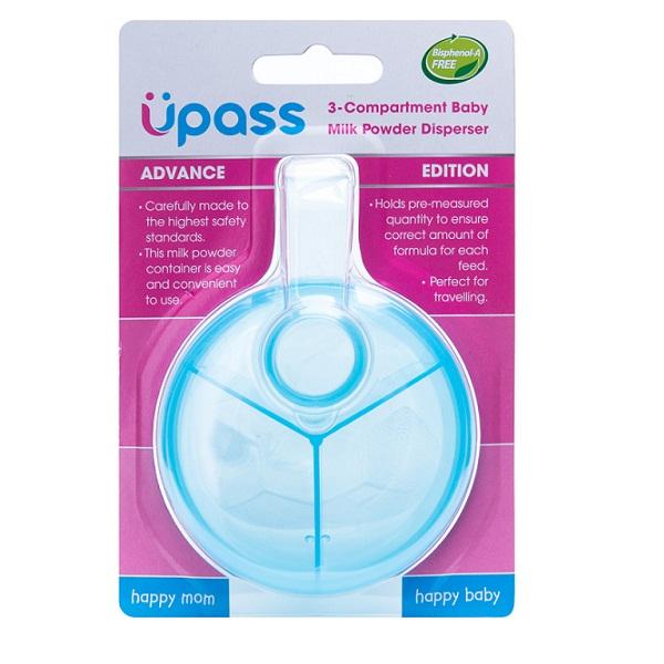 Hộp chia sữa 3 ngăn Upass UP8200F