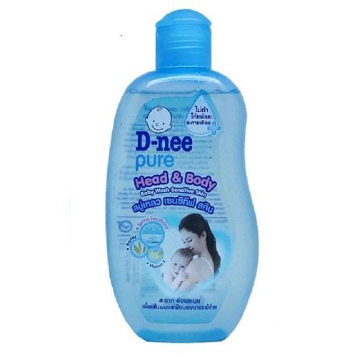 Sữa tắm gội tòan thân Dnee xanh dương 200ml