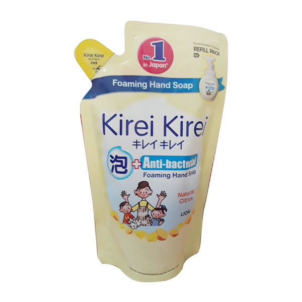 Bọt rửa tay Kirei 200ml chanh gói
