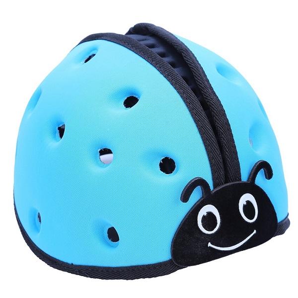 Nón mũ bảo hiểm cho bé Mumguard xanh dương