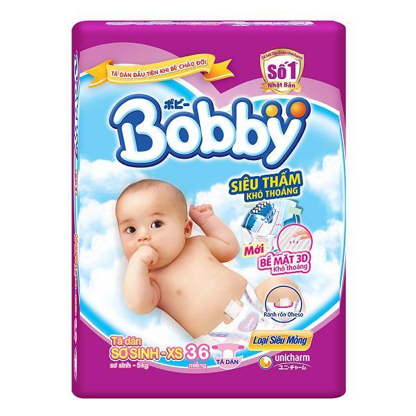 Tã giấy sơ sinh Bobby Newborn XS