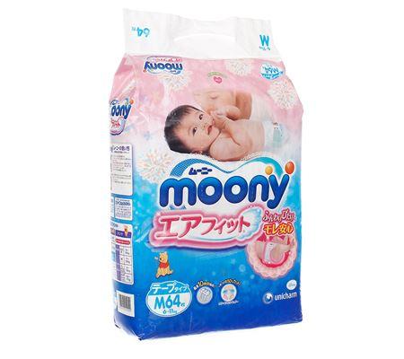 Bỉm dán Moony M64