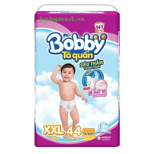 Bỉm Bobby Fresh quần XXL44