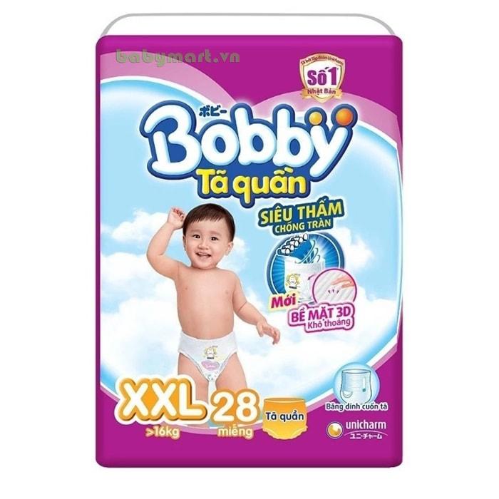 Bỉm Bobby Fresh quần  XXL28