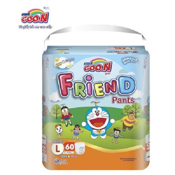 Tã quần Goon Friend Renew L60 (Siêu đại)