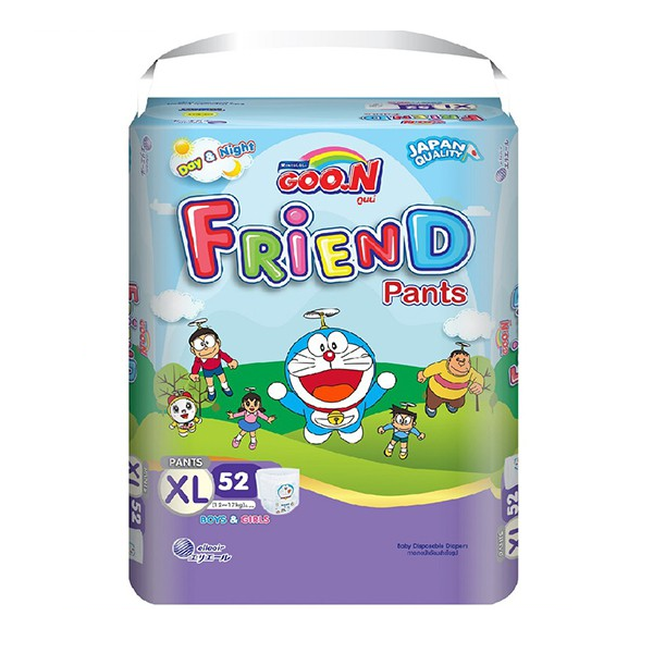 Tã quần Goon Friend Renew XL52 (Siêu đại)