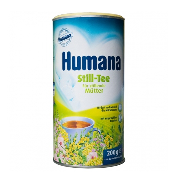 Trà Thảo Dược Hòa Tan Tăng Tiết Sữa Humana Still 200g
