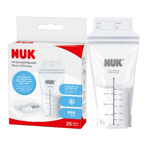 Túi trữ sữa Nuk 25 túi