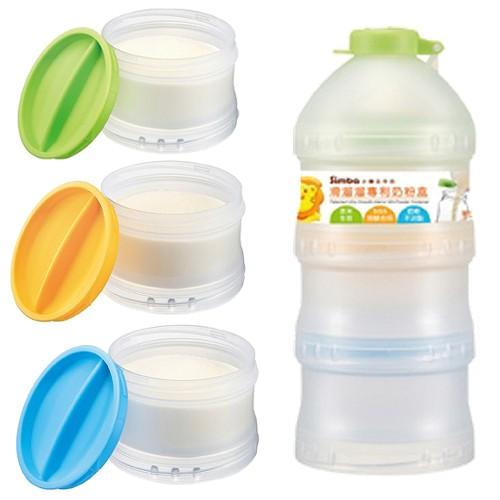Hộp chia sữa tròn 4 ngăn Simba S9943