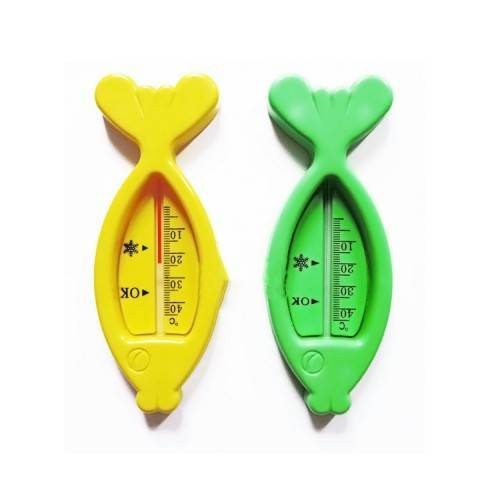 Cá đo nhiệt độ nước tắm
