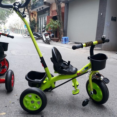 Xe đạp sắt có cần đẩy ST968