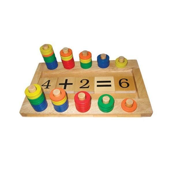 Đồ chơi gỗ - Bàn tính học đếm lớn