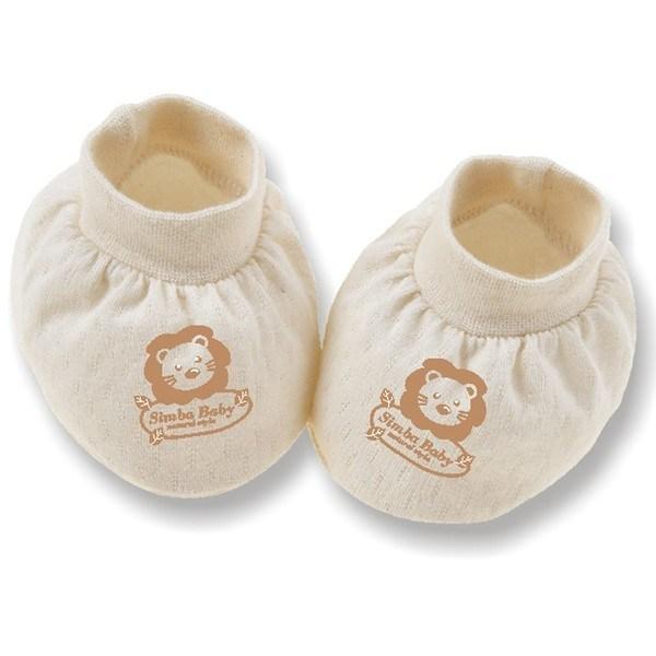 Bao chân sơ sinh Simba S5020 vải bông hữu cơ