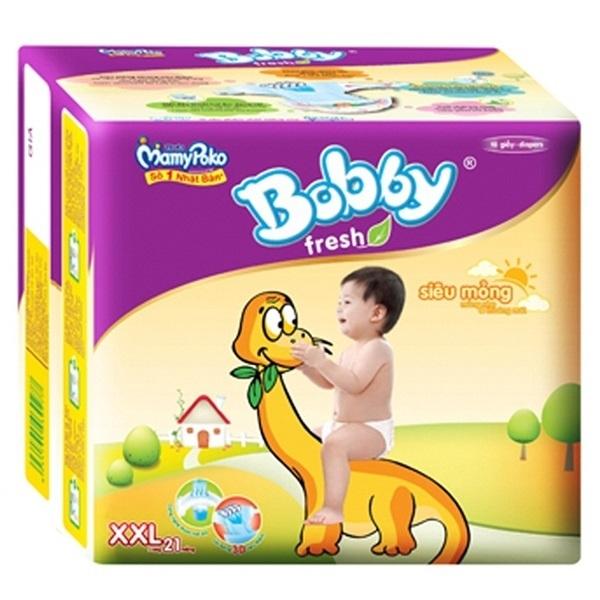 Tã Bobby siêu mềm L27