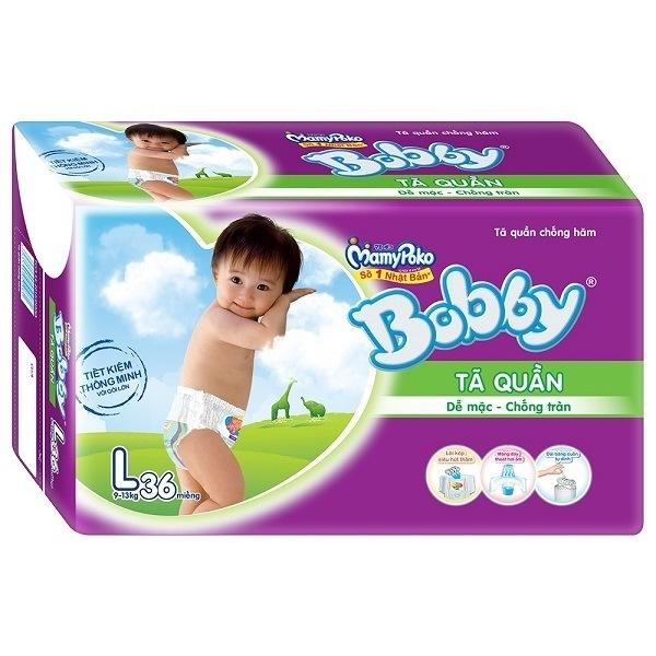 Bỉm Bobby Fresh quần L36
