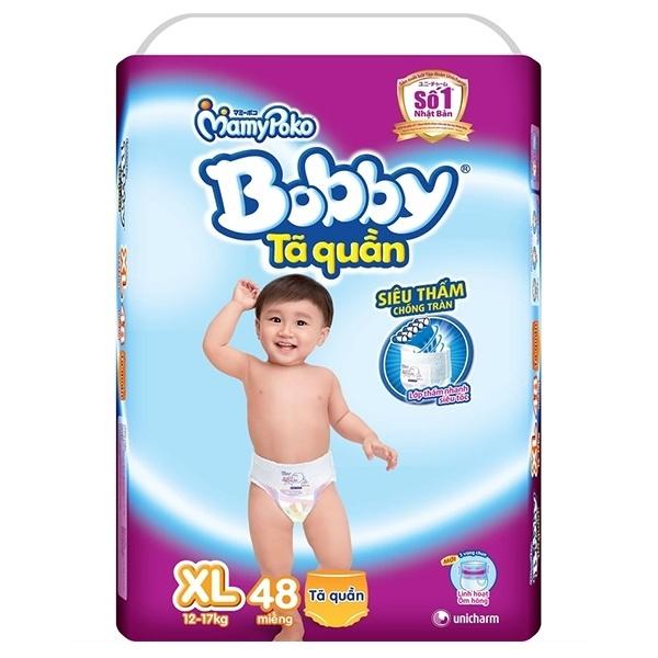 Bỉm Bobby Fresh quần XL48