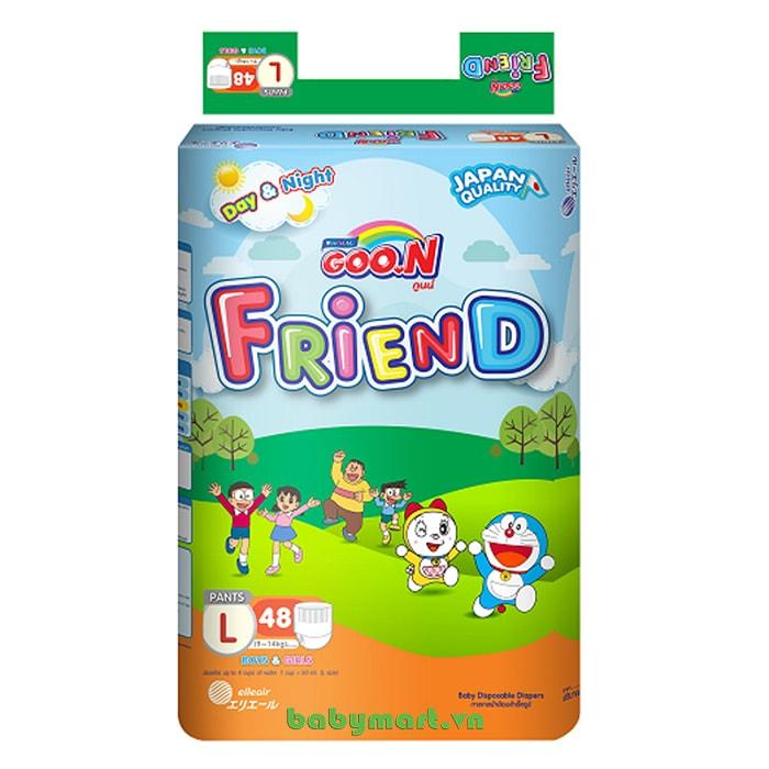 Bỉm Goon Friend quần L48