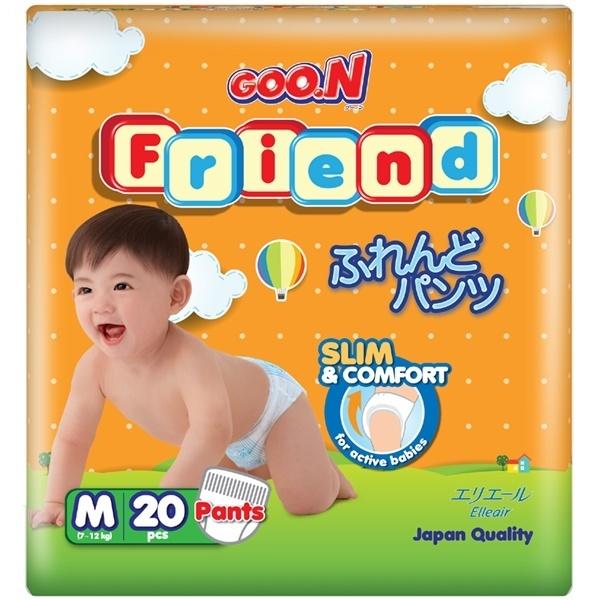 Bỉm Goon Friend quần M20