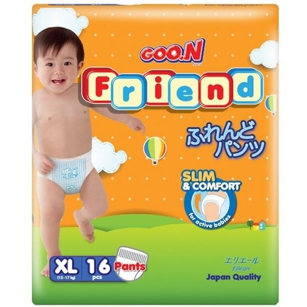 Bỉm Goon Friend quần XL16