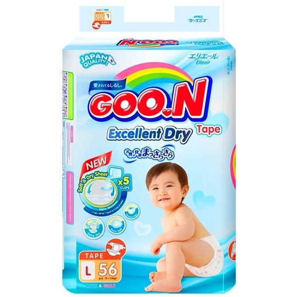 Bỉm Goon Slim dán L56