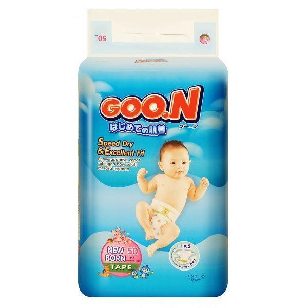 Bỉm Goon Slim Newborn 48 miếng