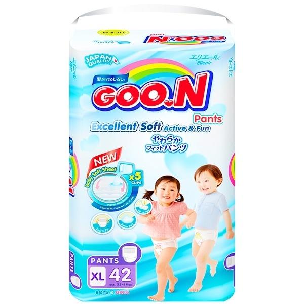 Bỉm Goon Slim quần XL42