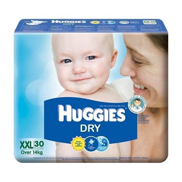 Bỉm Huggies dán lớn XXL30