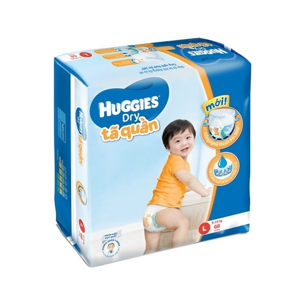 Bỉm Huggies quần L68
