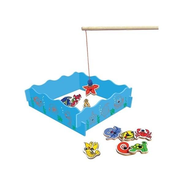 Đồ chơi gỗ - Bộ câu sinh vật biển Winwintoys 66362