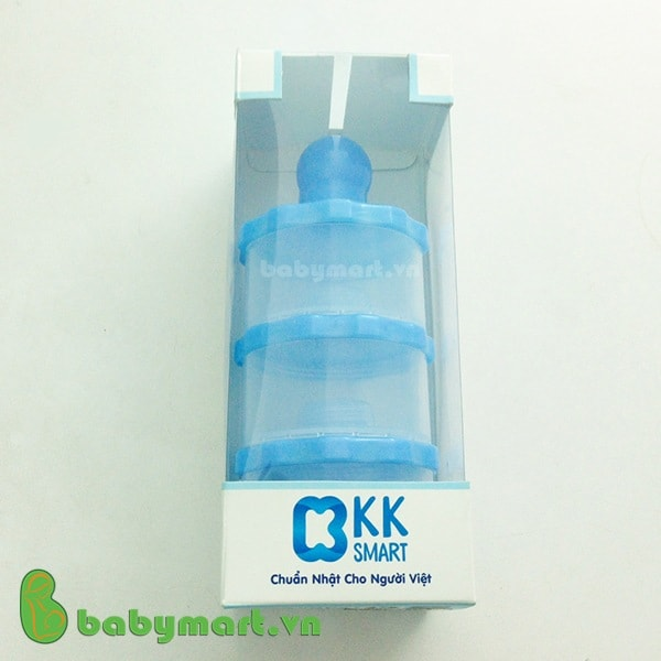 Bộ chia sữa bột 3 ngăn KK smart