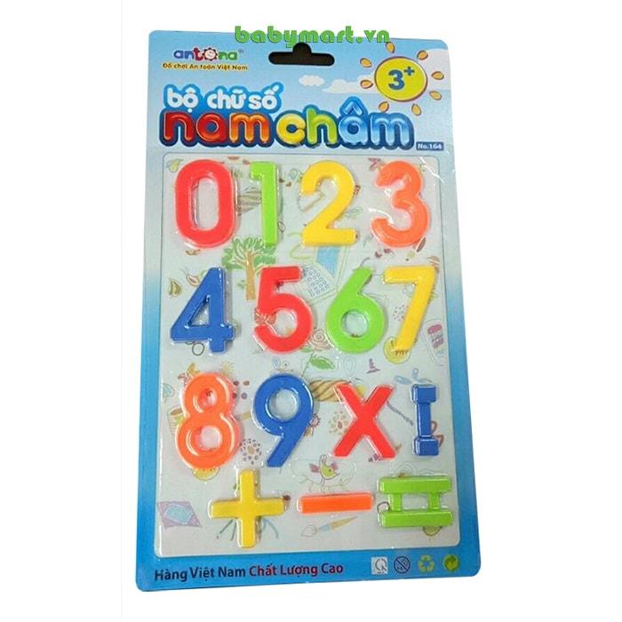 Bộ chữ số nam châm AN04