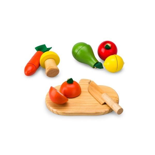 Đồ chơi gỗ - Bộ rau củ quả