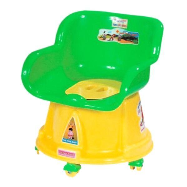 Bô vệ sinh có gắn bánh xe cho bé