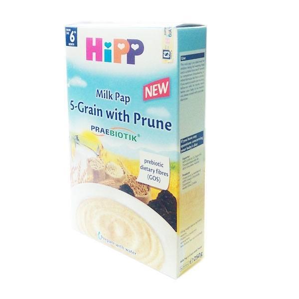 Bột HiPP có sữa táo tây 200gr 4-6m