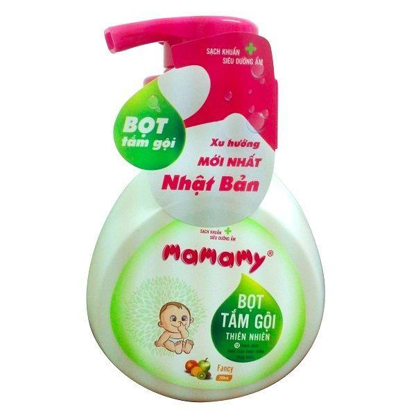 Bọt tắm gội thiên nhiên Mamamy 200ml hương trái cây