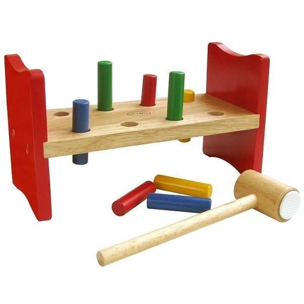 Đồ chơi gỗ - Bộ búa đập cọc 60192